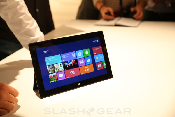 Microsoft Surface Tablet Hands-on [video]