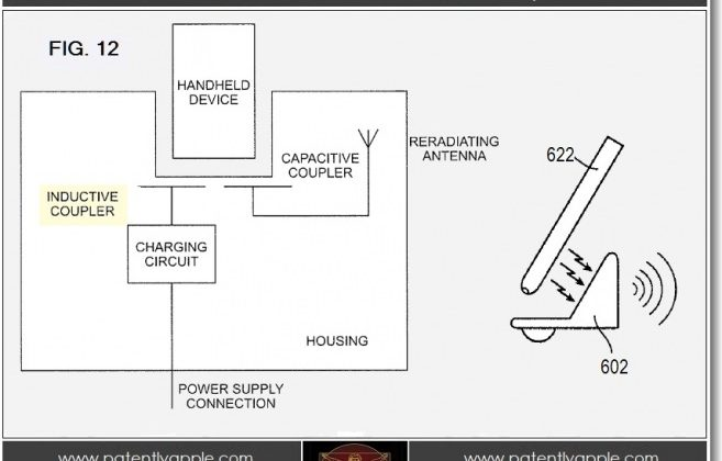 Apple wins patent for inductive charging station