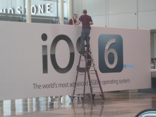 Banner confirms iOS 6 for WWDC at Moscone West