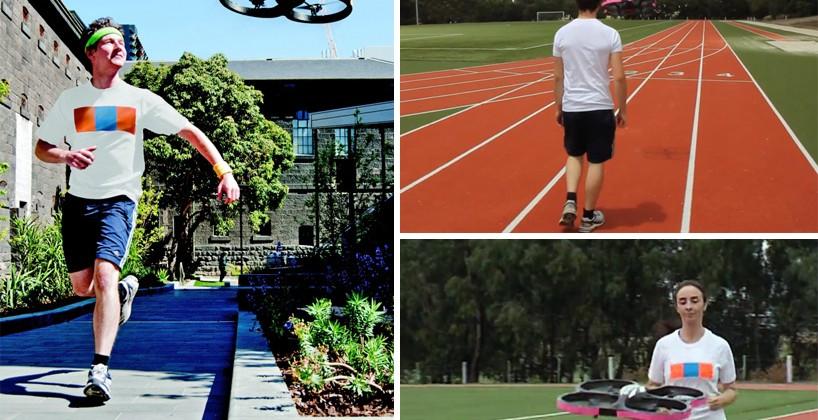 Joggobot is your robotic jogging companion