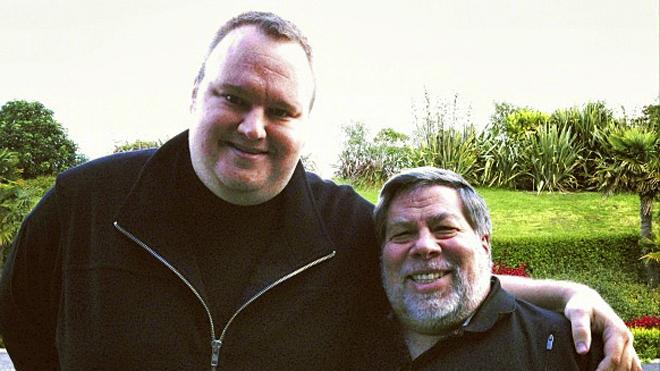 Steve Wozniak supports Kim Dotcom in MegaUpload case