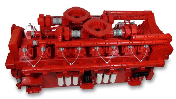 Cummins launches new initiative to inspire students with Lego engine replica