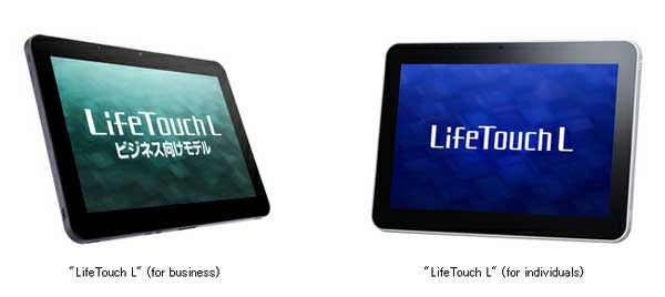 NEC unveils LifeTouch L for individuals and for business