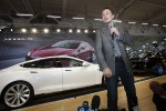 Tesla Motors Model S electric cars now a road reality