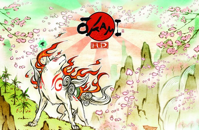 Okami HD makes your PS3 Move a Celestial Brush this fall