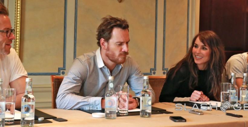 Prometheus: SlashGear meets Michael Fassbender, Noomi Rapace, Guy Pearce and Logan Marshall-Green