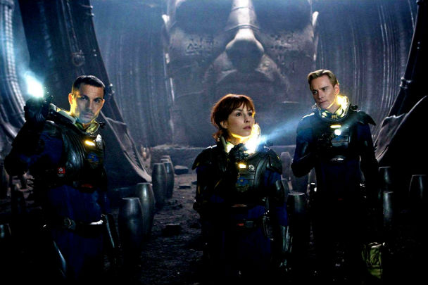Prometheus hits US theaters today
