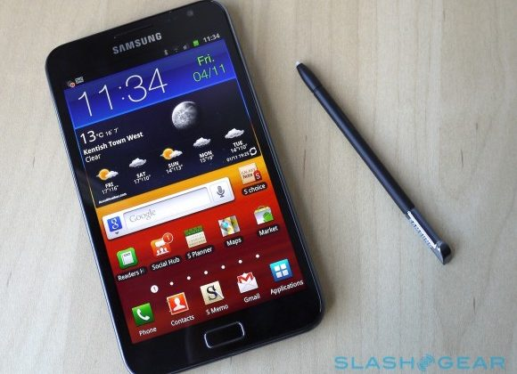 Samsung Galaxy Note II tipped for 5.5″ screen, September launch