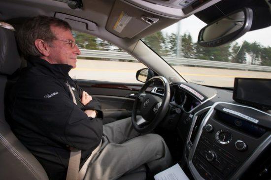 GM studies driver behavior in self-driving vehicles