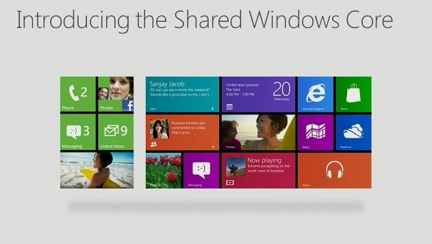 Windows Phone 8 and Windows 8 get shared core