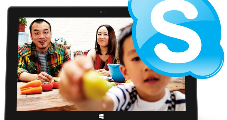 Microsoft: Surface tablets perfect for Skype - SlashGear