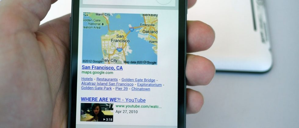 Google Now hands-on