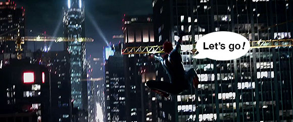 The Amazing Spider-Man movie: our first look