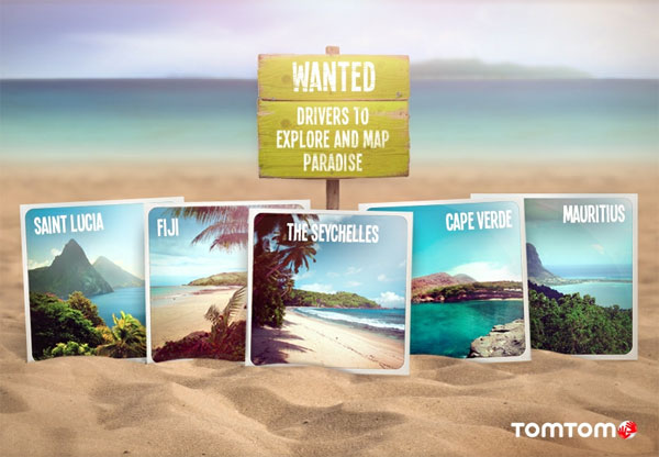 TomTom wants to pay you to map paradise this summer
