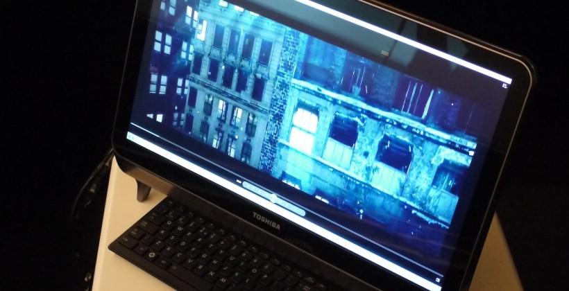 Toshiba Computex 2012 Hands-on Round-Up