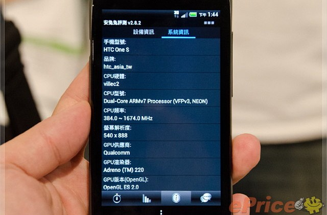 HTC One S launched in Taiwan with Snapdragon S3