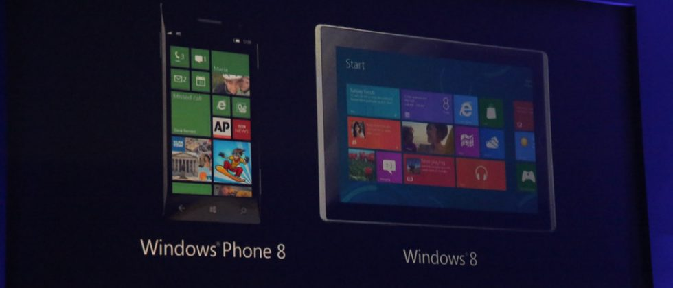Microsoft's vision: Win8 tablets and Windows Phone 8 in tapping harmony