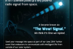 National Geographic invites everyone to reply to 1977 WOW! signal