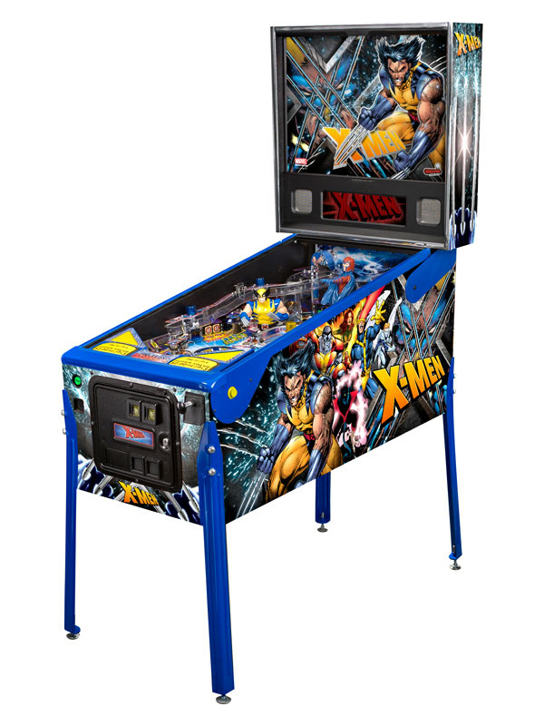 Stern Pinball unveils sweet X-Men pinball machines - SlashGear