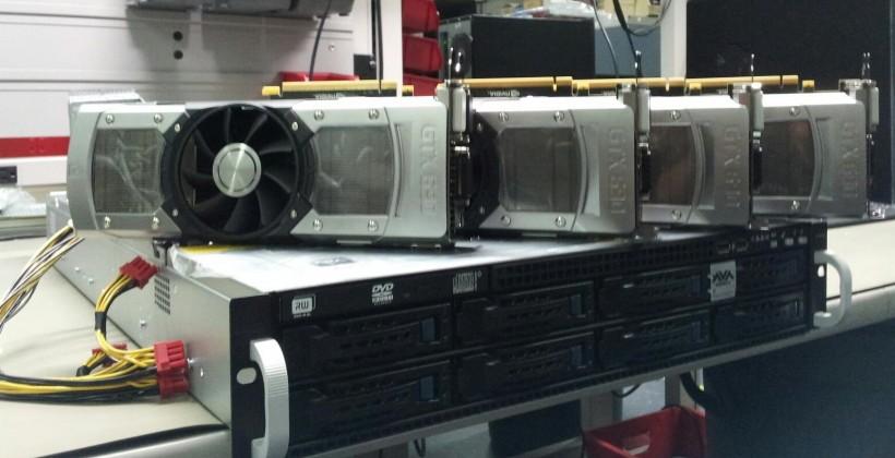 Quad GeForce GTX 690 server scoffs at your parallel processing needs