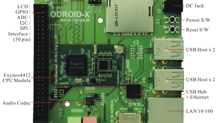 ODROID-X trumps Raspberry Pi with quad-core CPU