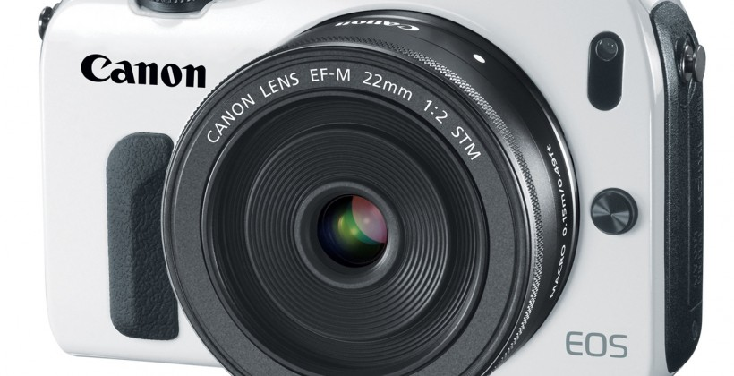 Canon EOS M 18MP mirrorless camera official for October