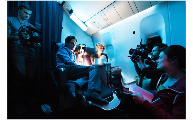 Canon EOS C300 used in world's first airplane-exclusive film shoot