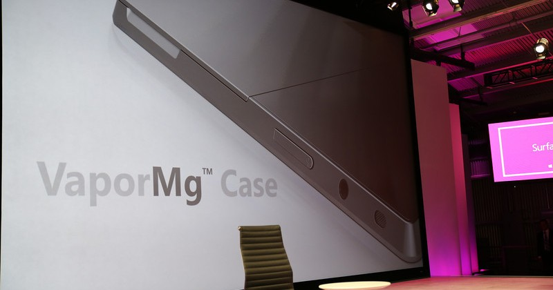 Microsoft Surface magnesium case reportedly hit by low yields