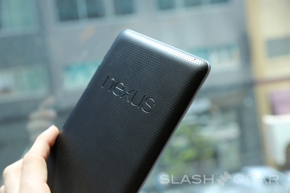 Google's Nexus 7 tablet to go without three major categories in the UK