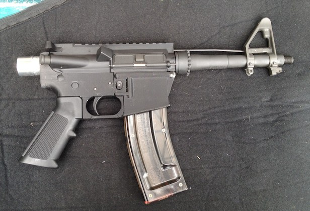 Man makes guns with a 3D printer