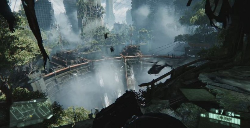 Crysis 3 gets 20 minute interactive gameplay video