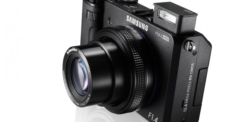 Samsung EX2F offers WiFi, F1.4, Full HD and more