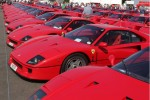 60 Ferrari F40s congregate at Silverstone to celebrate 25th anniversary