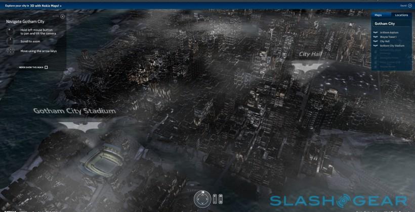 Nokia maps 3D Gotham City in The Dark Knight Rises tie-in [Updated]