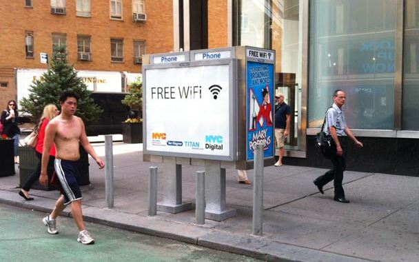 NYC payphones begin transition to Wi-Fi hotspots