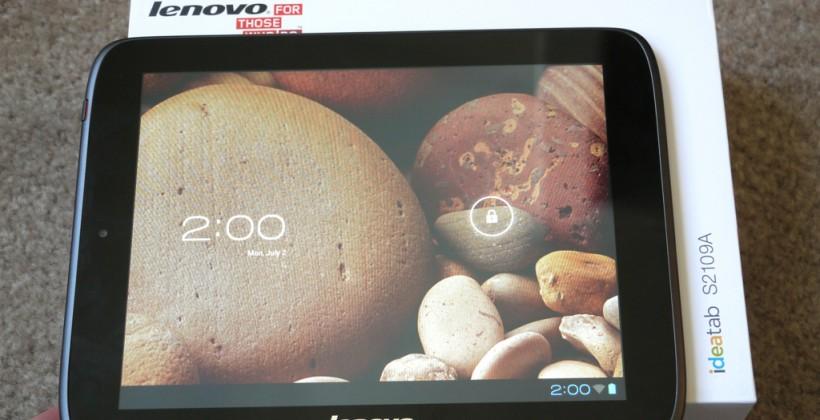 Lenovo IdeaTab S2109 Unboxing