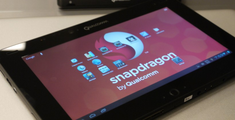 Qualcomm Snapdragon S4 quad-core tablets available now for $1299