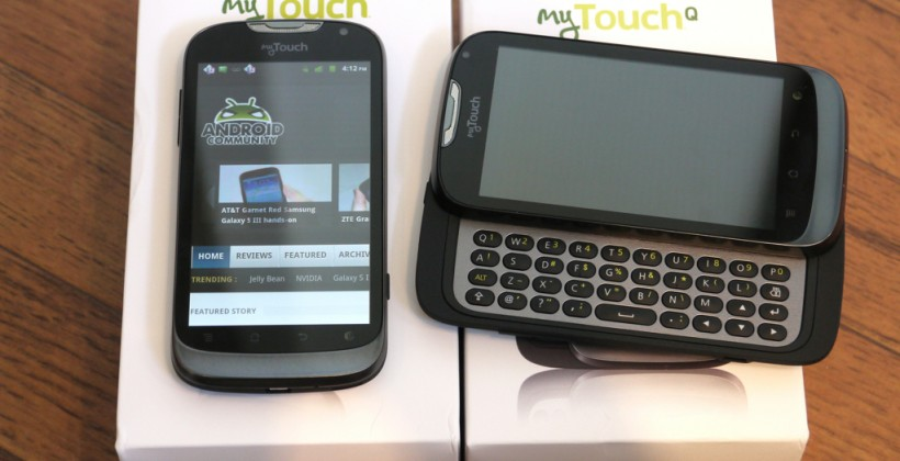 T-Mobile myTouch and myTouch Q hands-on and unboxing