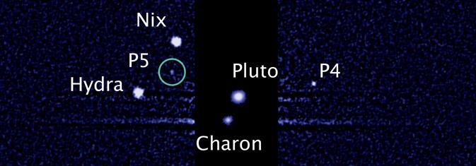 Hubble Space Telescope spots fifth moon orbiting Pluto