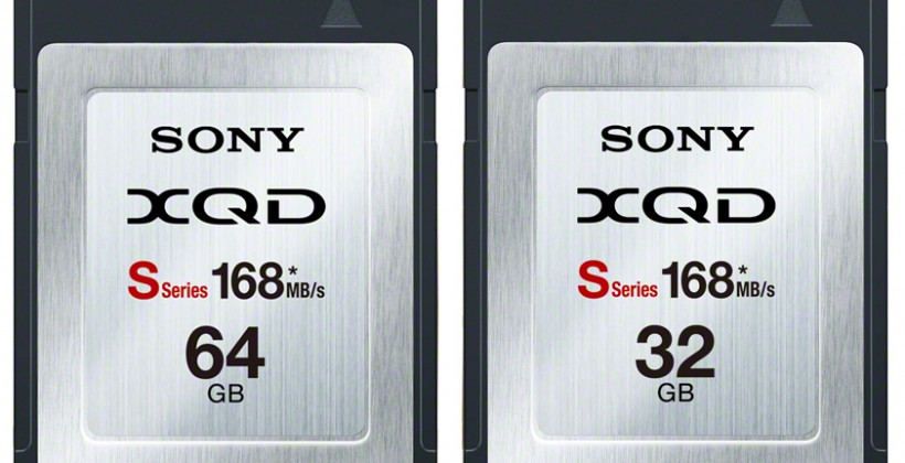 Sony hits 168MB/s with whippet-fast XQD memory cards