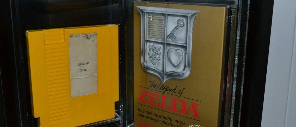 Legend of Zelda prototype cartridge comes with hefty price tag