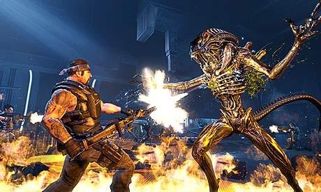 Sega's Aliens: Colonial Marines to scrap female characters
