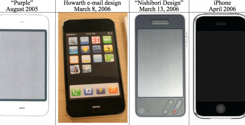 """2005 iPhone """"Purple"""" design revealed to squash Samsung's copy claims"""