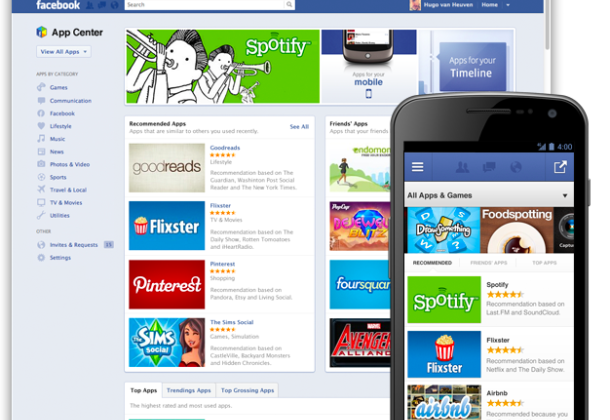 Facebook expands App Center in more countries