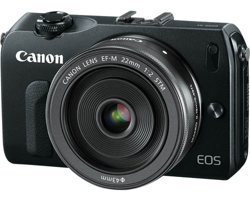 Canon EOS-M mirrorless camera image leaks