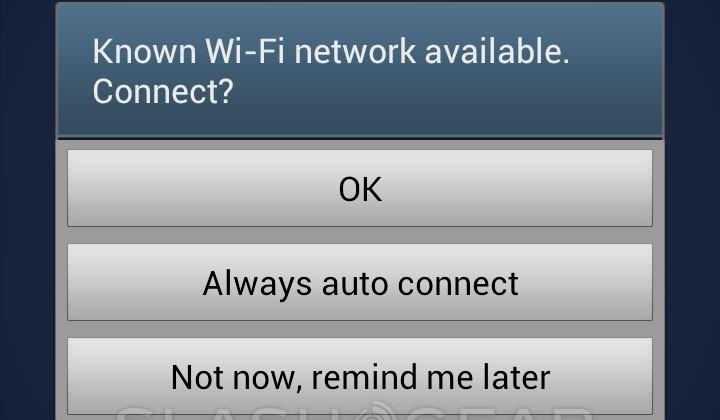 Verizon Galaxy S III Wi-fi notifications burdon early adopters