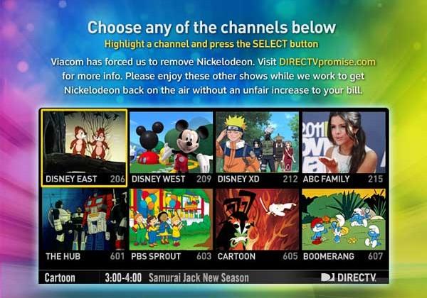 DirecTV and Viacom kiss and make up