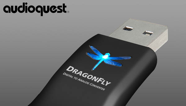AudioQuest's DragonFly is a USB-powered digital-to-analog converter