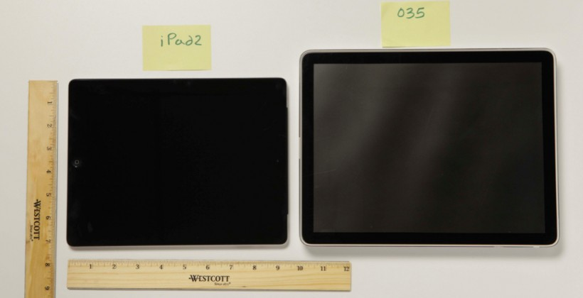 iPad original prototype re-appears with 12-inch display