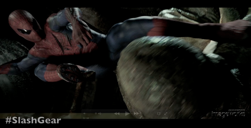 "SlashGear Exclusive: Sony Imageworks presents The Amazing Spider-Man ""Sewer Battle"""